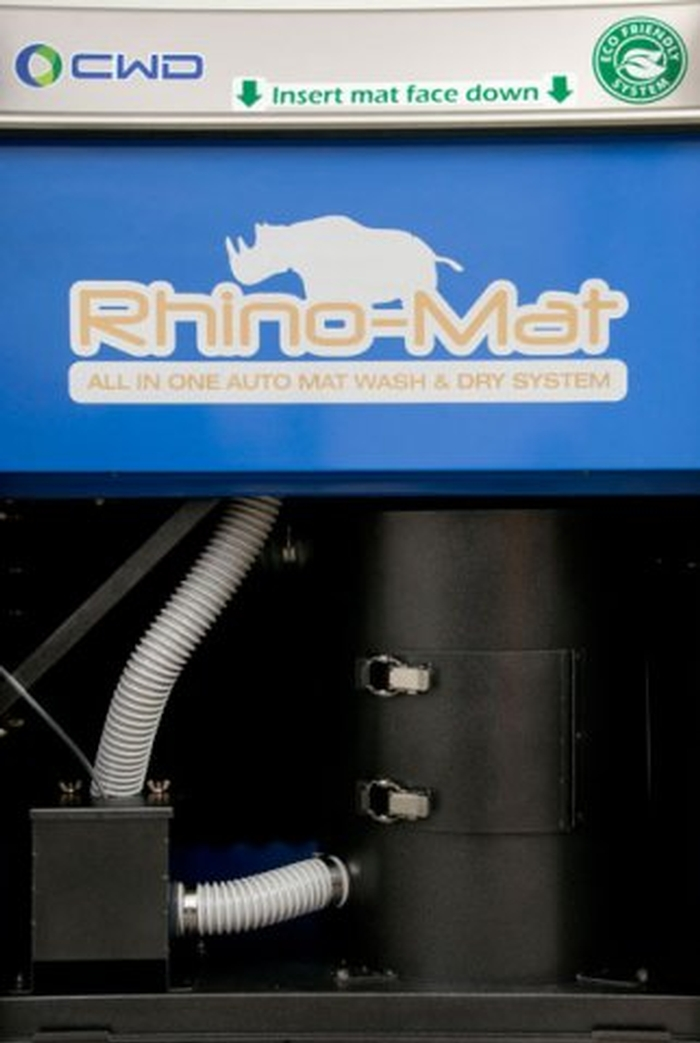 Rhino Mat Wash Dry Carbon Steel Full Serve Model