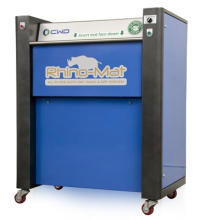 Rhino-Mat Wash & Dry Stainless Steel (Full Serve Model)