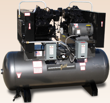 20-25 HP Duplex Screw Compressors