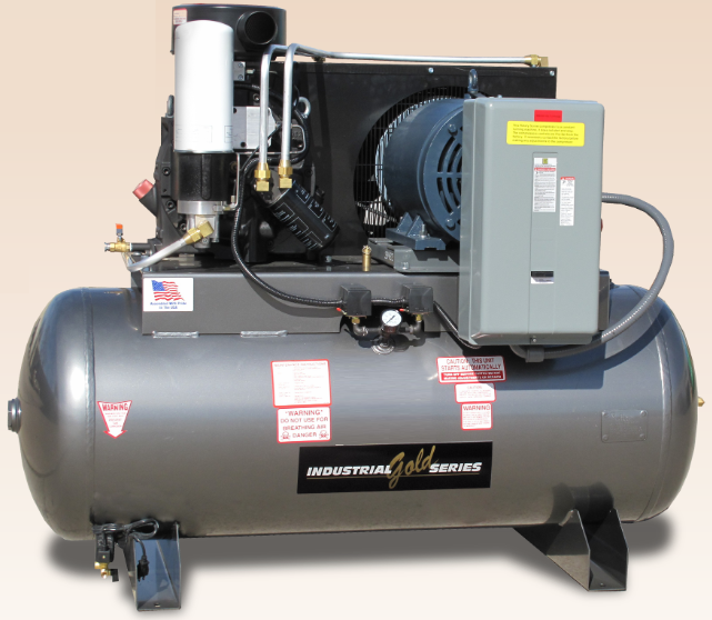 30 - 50 HP Rotary Screw Compressors