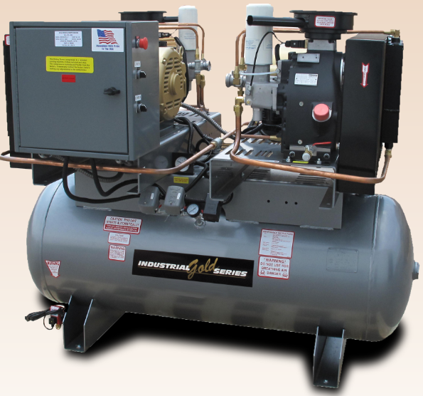 30-50 HP Duplex Screw Compressors
