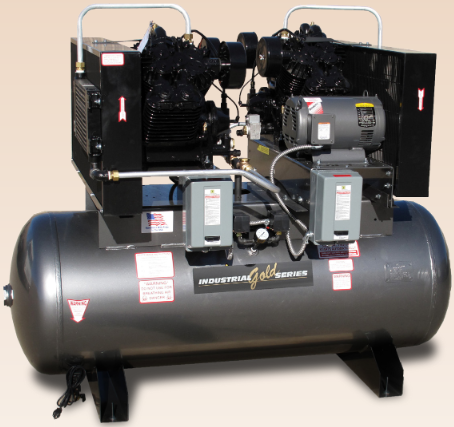 5-15 HP Duplex Screw Compressors