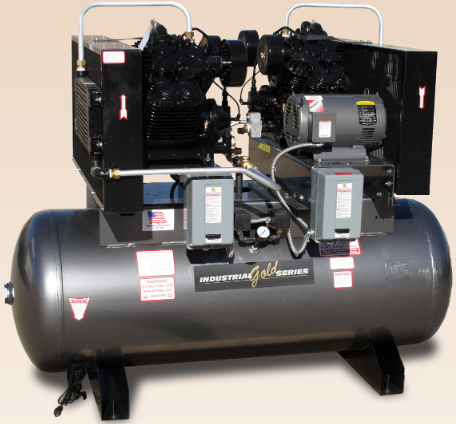 5-25 HP Duplex Screw Compressors